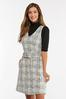 Belted Boucle Jumper Dress alternate view