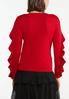 Ruffle Sleeve Sweater alternate view