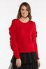 Plus Size Ruffle Sleeve Sweater alternate view