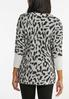 Shimmery Leopard Tunic Sweater alternate view