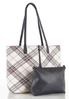 Oversized Plaid Tote alternate view