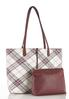 Oversized Plaid Tote alt view
