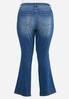Plus Size Front Pocket Jeans alternate view