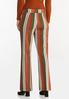 Spicy Striped Wide Leg Pants alternate view