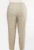 Plus Size Solid Bengaline Pants alternate view