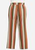 Plus Size Spicy Striped Wide Leg Pants alternate view