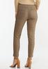 Chestnut Plaid Pull- On Pants alternate view