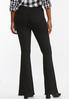 Black Pull- On Flare Jeans alternate view