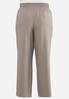 Plus Size Wide Leg Trouser Pants alt view