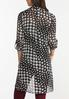 Houndstooth High- Low Tunic alternate view