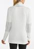 Plus Size Ruffled Cowlneck Athleisure Top alternate view