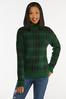 Green Plaid Sweater alternate view