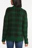 Green Plaid Sweater alt view