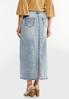 Acid Wash Denim Skirt alternate view