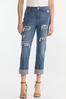 Distressed Boyfriend Jeans alternate view