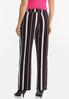 Pink Stripe Wide Leg Pants alternate view