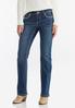 Rhinestone Cross Embellished Jeans alternate view