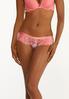 Plus Size Floral Hipster Panty Set alt view