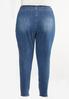 Plus Size Tie Waist Jeans alternate view