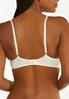 Plus Size Ivory Black Wire- Free Bra Set alt view