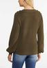 Button Shoulder Sweater alternate view