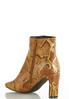 Snakeskin Heeled Ankle Boots alternate view