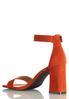 Orange Ankle Strap Sandal alternate view