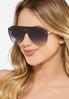 Black Shield Sunglasses alternate view