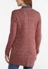 Plus Size Space Dye Cardigan Sweater alternate view