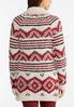 Cozy Aztec Cardigan Sweater alternate view