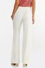 Ivory Belted Pants alt view