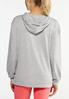 Plus Size Speckled Hoodie alternate view
