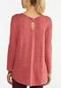Plus Size Rosey Be Kind Hacci Top alternate view