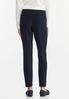 Petite Textured Slim Pants alternate view