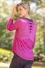 Plus Size Live Well Active Cross Back Top alt view