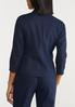 Plus Size Solid Linen Blazer alternate view