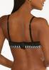 Plus Size Striped Convertible Bra Set alt view