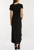 Plus Size Knotted Hem Maxi Dress alternate view
