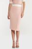 Plus Size Ribbed Midi Sweater Skirt alternate view