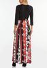Plus Size Spice Floral Maxi Dress alternate view