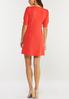 Plus Size Spice Coral Swing Dress alternate view