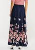Navy Floral Maxi Dress alternate view