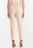 Petite Floral Belted Slim Pants alternate view
