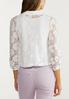 Plus Size Cropped Lace Jacket alternate view