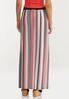 Plus Size Melon Stripe Maxi Skirt alternate view