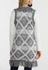 Plus Size Fringe Sweater Vest alternate view