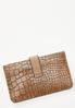 Croc Card Holder Wallet alternate view