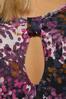 Grape Floral Active Top alt view