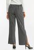 Stripe Wide Leg Pants alternate view