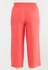 Plus Size Cropped Spice Wide Leg Pants alternate view